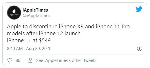 IPhone 11 Pro и iPhone Xr снимут с производства после анонса нового Phone 12