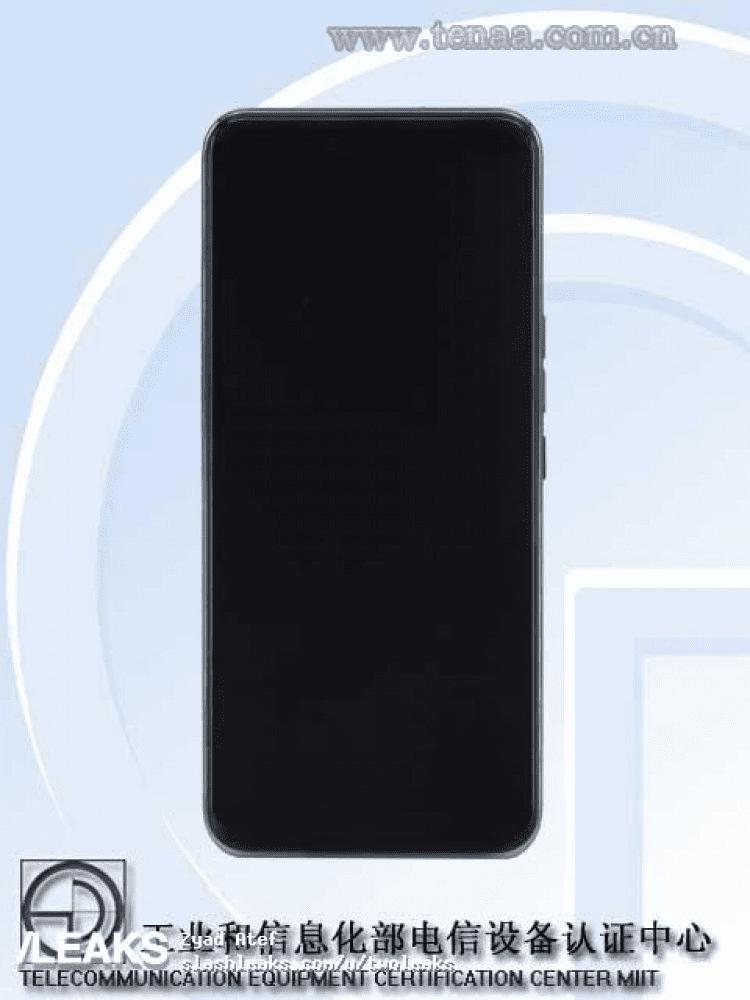 Первый смартфон с подэкранной камерой от ZTE появился в TENAA