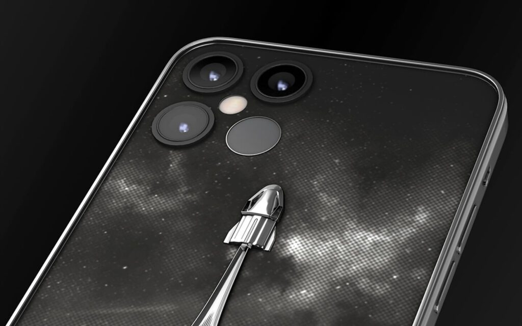 Caviar представила «космический» iPhone 12 Pro имени Илона Маска