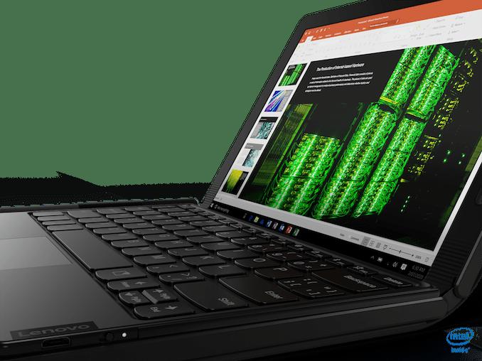 Lenovo презентовала первый ноутбук с гибким экраном
