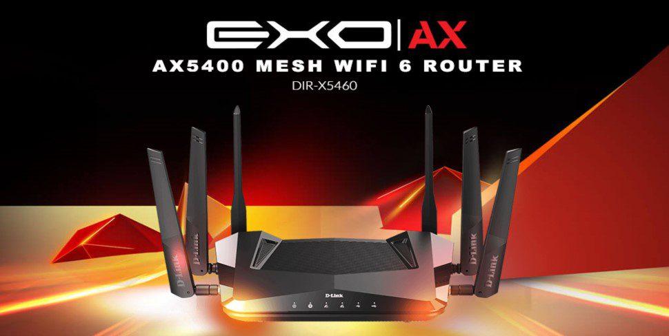 Роутер D-Link EXO AX5400 стандарта Wi-Fi 6 будет стоить $350
