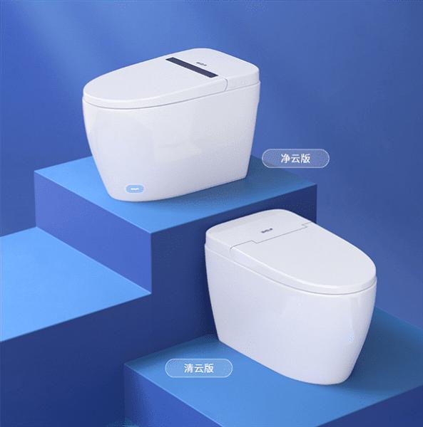 На площадке Xiaomi представили «умный» антибактериальный туалет