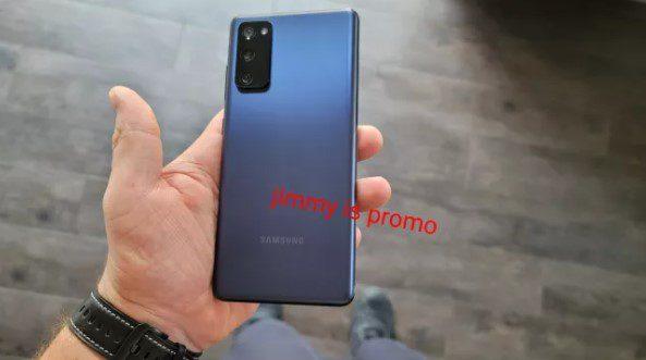 Смартфон Samsung Galaxy S20 FE впервые появился на живых фото