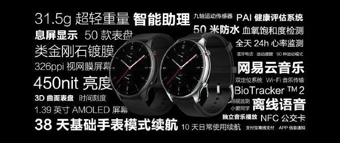 Huami представила новые умные часы Amazfit GTR 2
