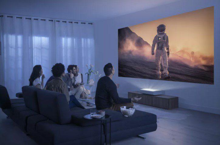 Samsung представила первый 4K-проектор с поддержкой HDR10+