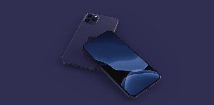 Новый iPhone 12 появится в темно-синем цвете