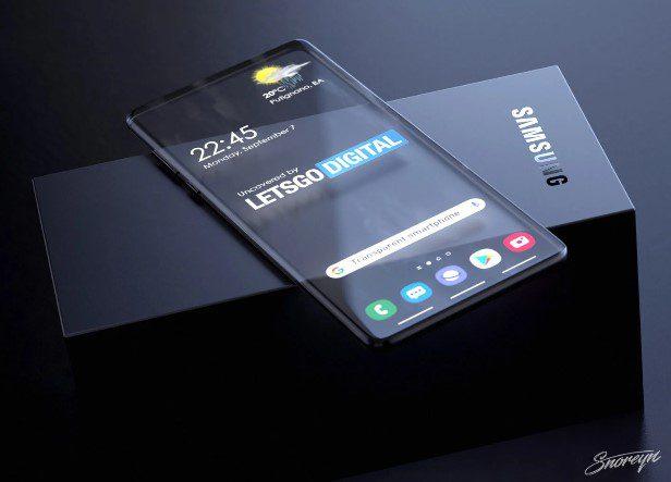 Samsung готовит к выпуску уникальный прозрачный смартфон