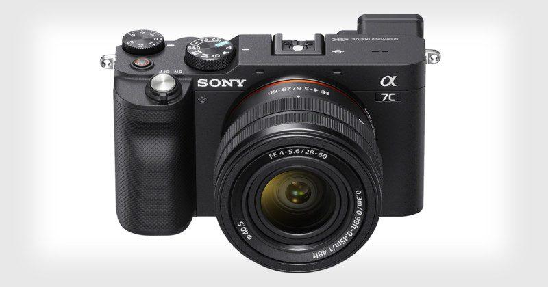 Новую камеру Sony A7c показали на фото и рендерах