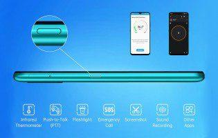 Umidigi представила доступный смартфон с функцией бесконтактного термометра