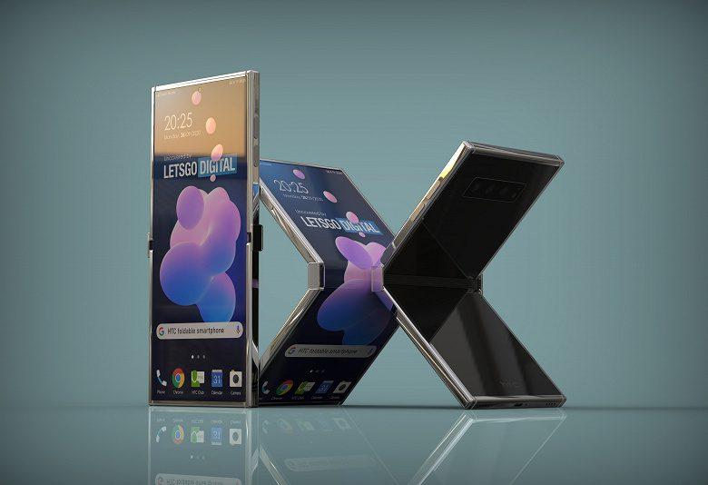 Гибкий смартфон-«антираскладушка» HTC представлен на рендерах
