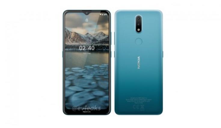 Рендер Nokia 2.4 появился в Сети