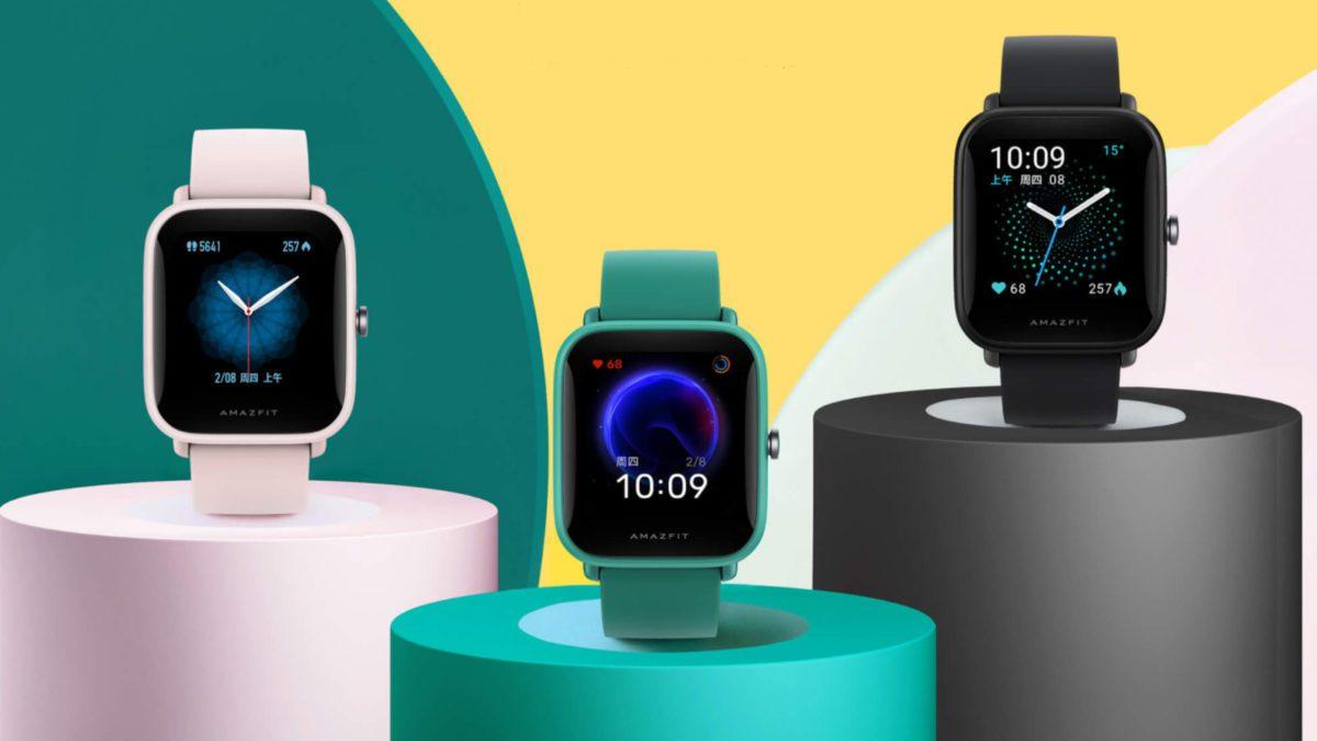 Huami представила умные часы Amazfit Pop