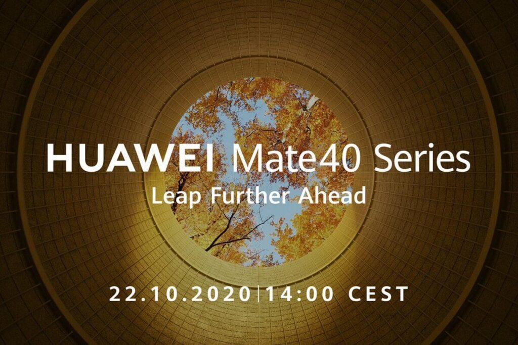 Линейка смартфонов Huawei Mate40 дебютирует 22 октября