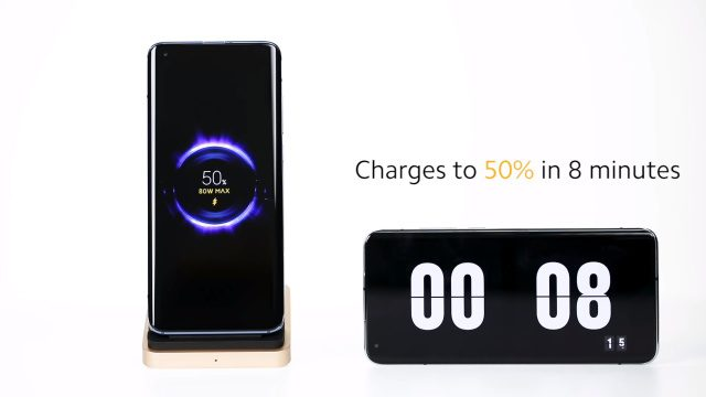 Компания Xiaomi представила самую быструю в мире беспроводную зарядку для смартфонов