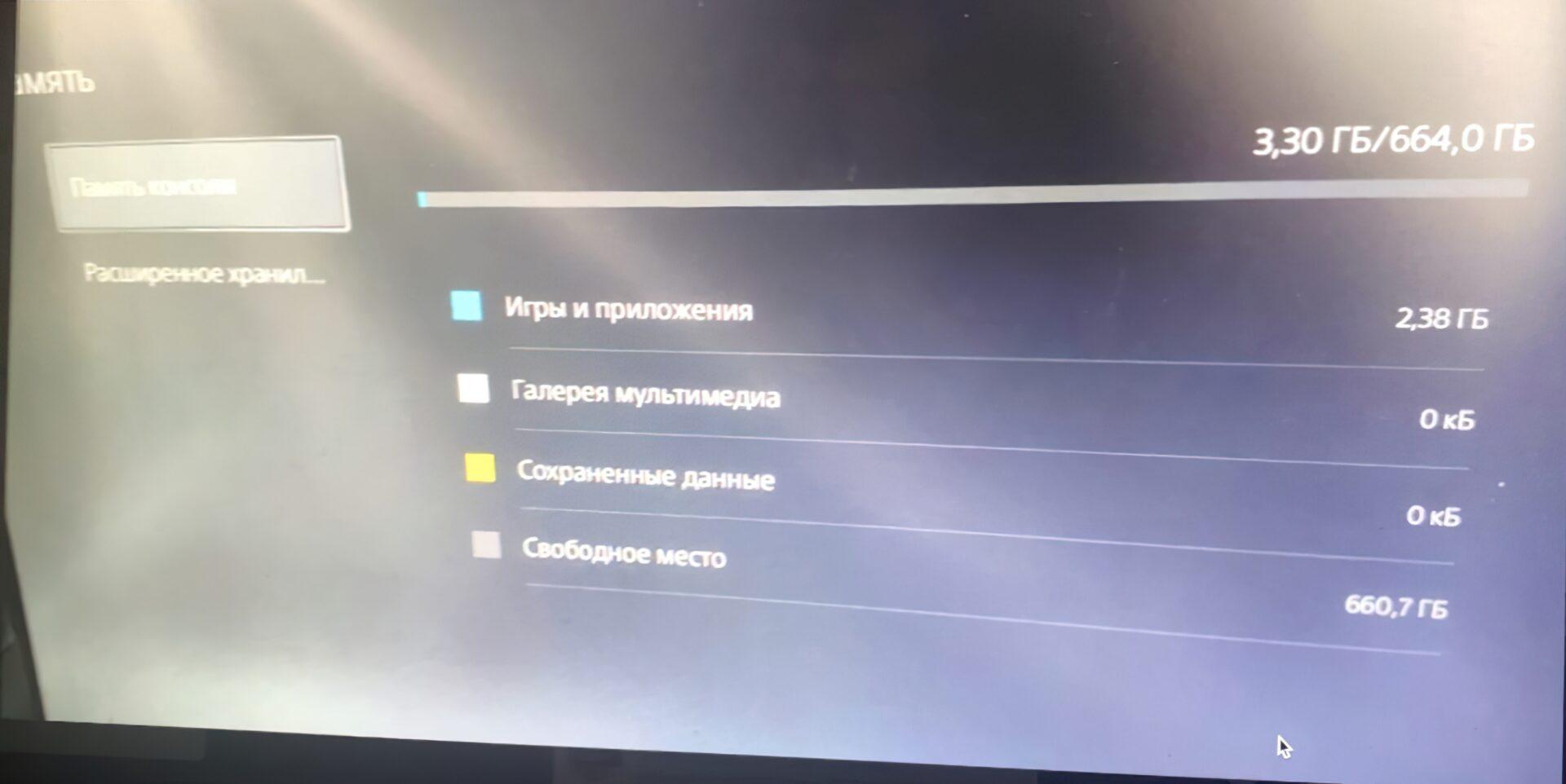 Под игры в PlayStation 5 будет выделено лишь 664 Гб