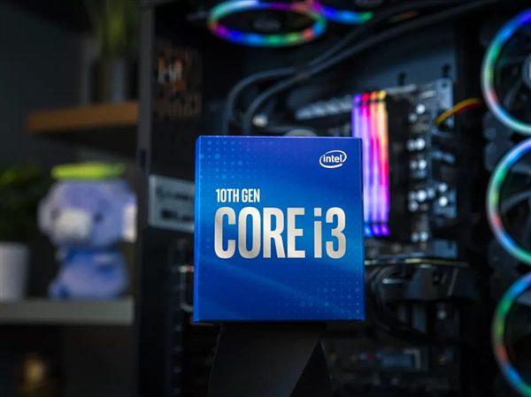Компания Intel выпустила новый процессор Core i3-10100 F