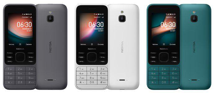 Nokia 6300 4G выпускается в корпусе из поликарбоната и на KaiOS