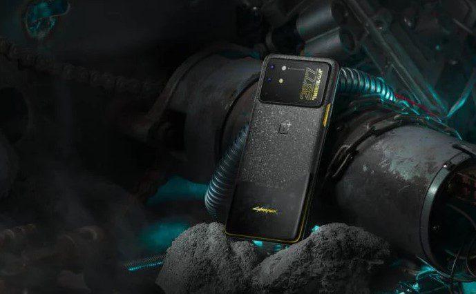 Представлен OnePlus 8T Cyberpunk 2077 Edition за 597 долларов