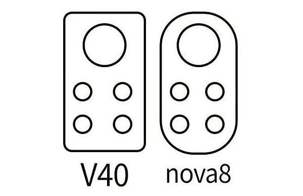 Опубликованы первые эскизы дизайна камер Huawei Nova 8 и Honor V40