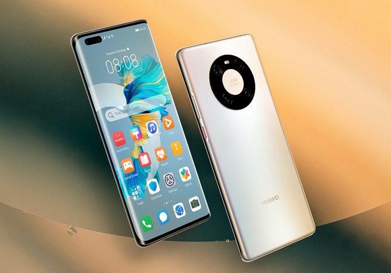 В РФ начались продажи флагманского смартфона Huawei Mate 40 Pro