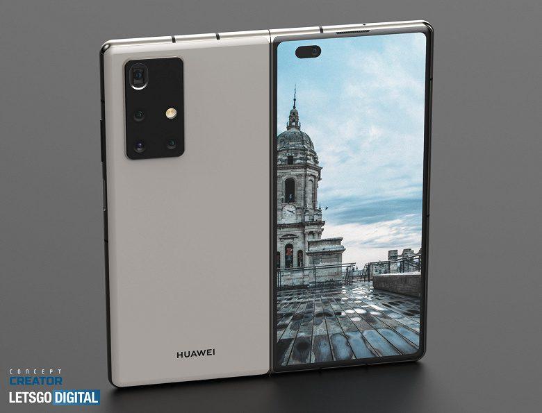Раскрыты характеристики гибкого смартфона Mate X2 от Huawei