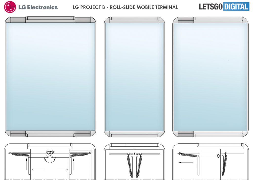 LG может выпустить смартфон с выдвижным дисплеем