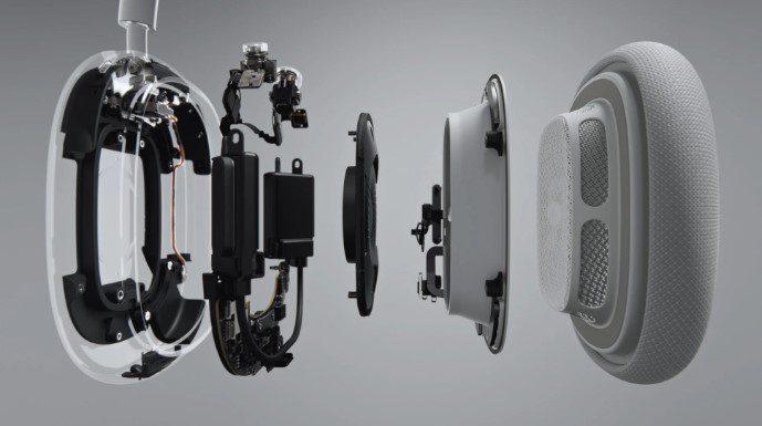 Apple презентовала беспроводные накладные наушники Apple AirPods Max