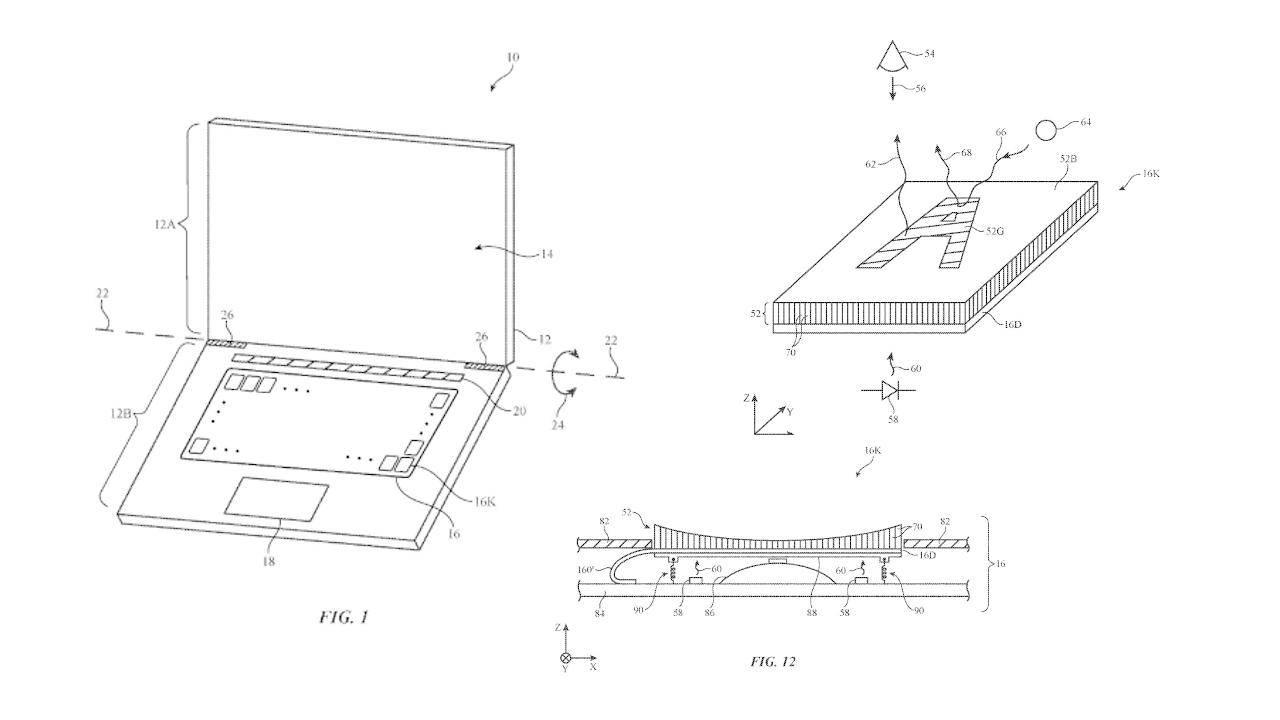 Apple запатентовала новую клавиатуру с дисплеем в каждой клавише