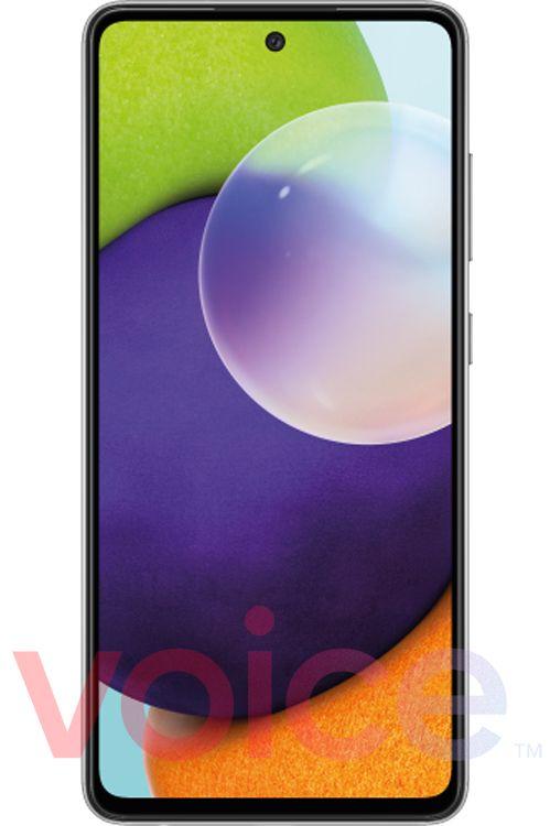 Смартфон Samsung Galaxy A72 5G показали на рендере