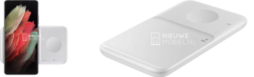 Samsung Galaxy 21 показали на изображениях с новыми беспроводными зарядками