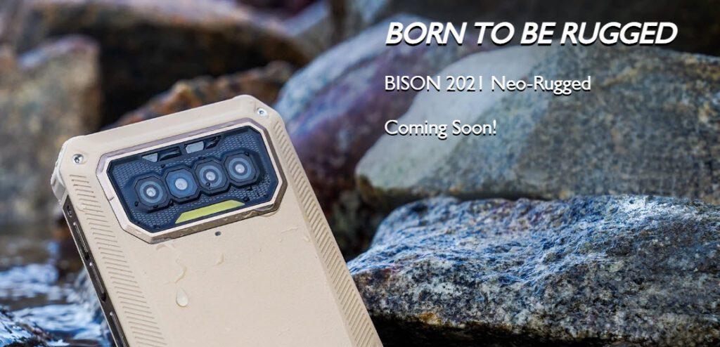 Компания F150 представила свой первый смартфон Bison 2021
