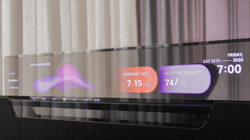 Компания LG Display презентовала 55-дюймовый прозрачный телевизор