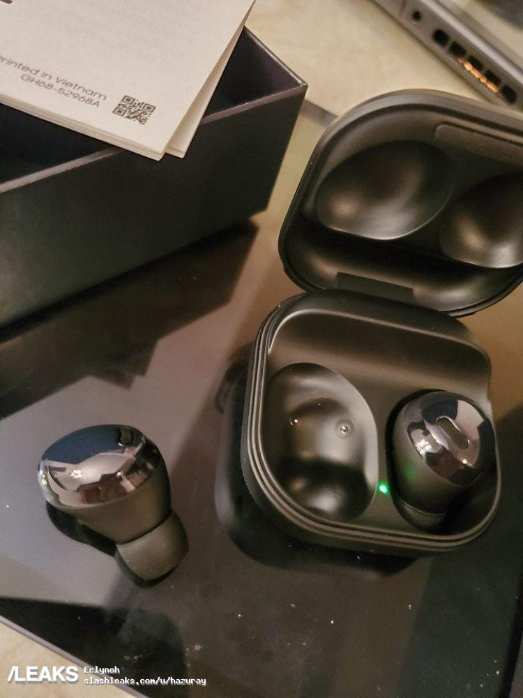 Новые беспроводные наушники Samsung Galaxy Buds Pro показали на фото