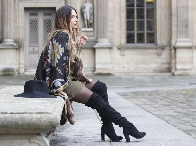 Женские ботфорты - вечный элемент женского гардероба