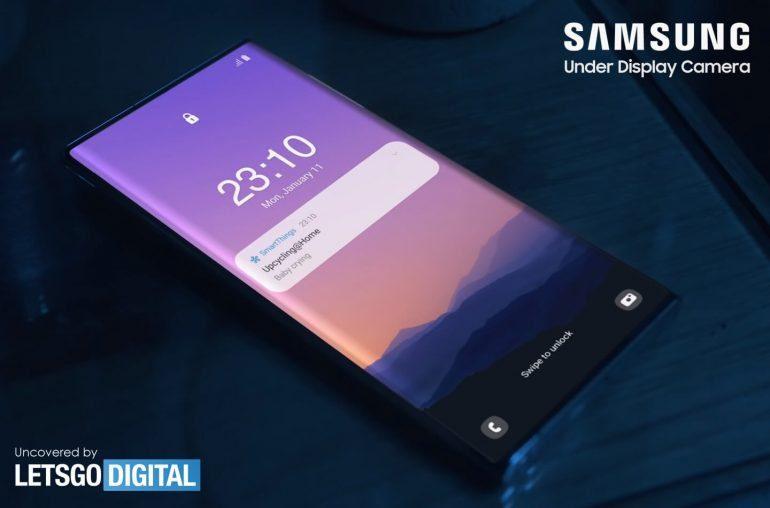 Samsung показал смартфон Galaxy Note 21 Ultra с камерой под экраном