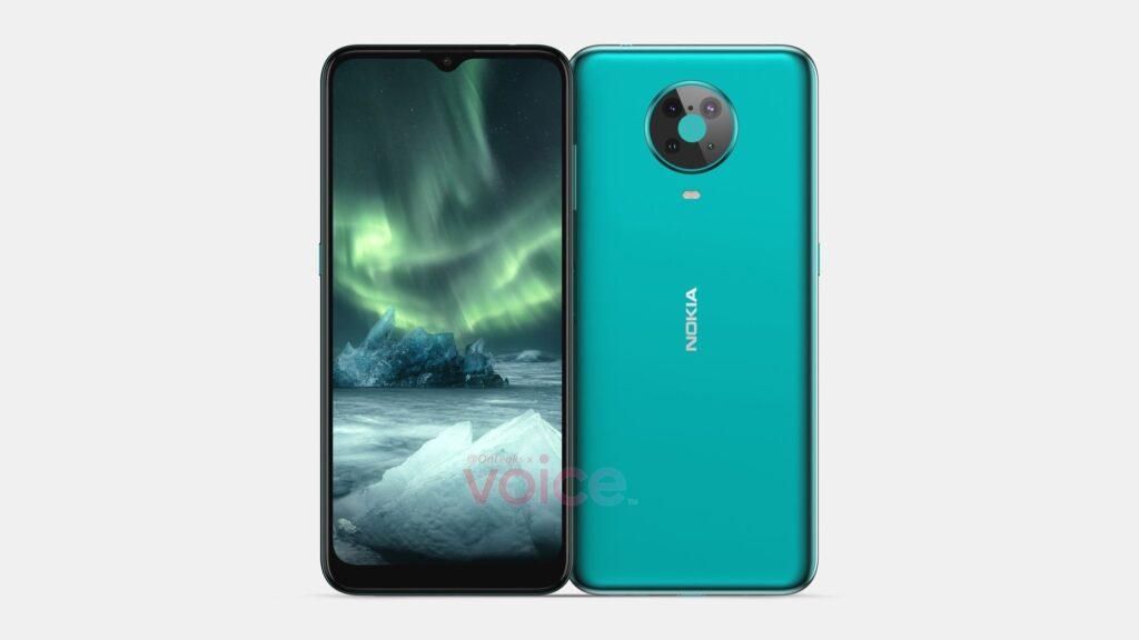 В Сети раскрыли дизайн нового среднебюджетного смартфона Nokia 6.4