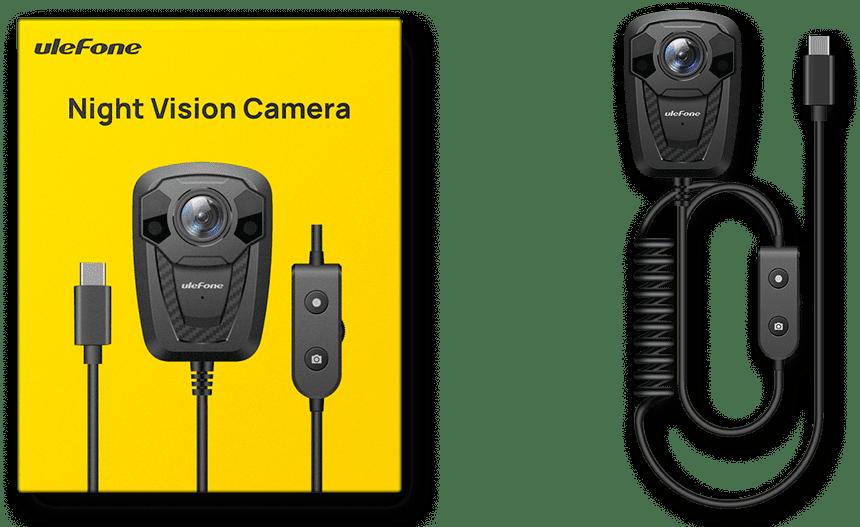 Внешнюю камеру ночного видения для смартфонов представила Ulefone