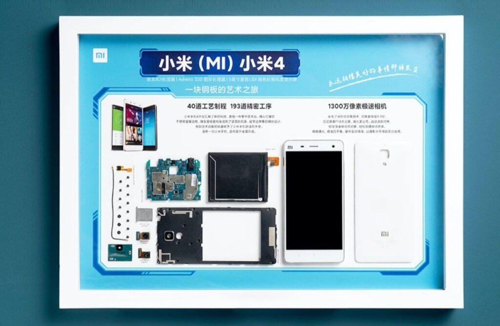 Xiaomi стала превращать старые смартфоны в настенные картины