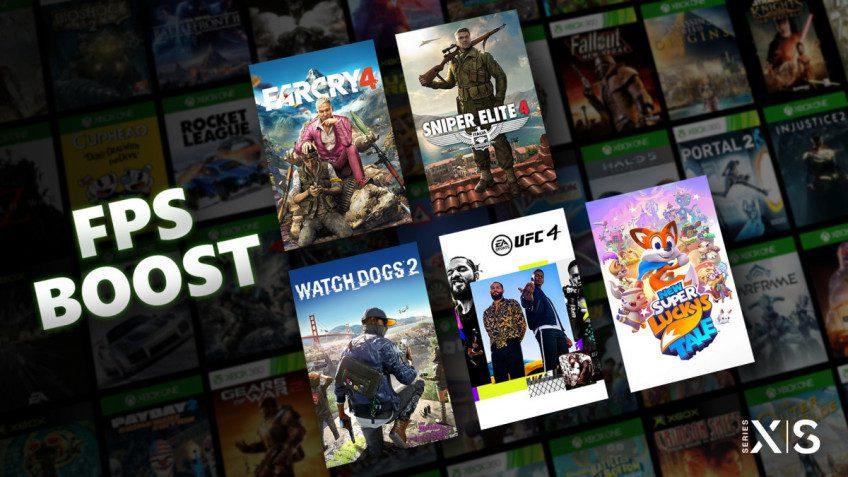 Microsoft удвоила частоту кадров в играх для Xbox Series с режимом FPS Boost