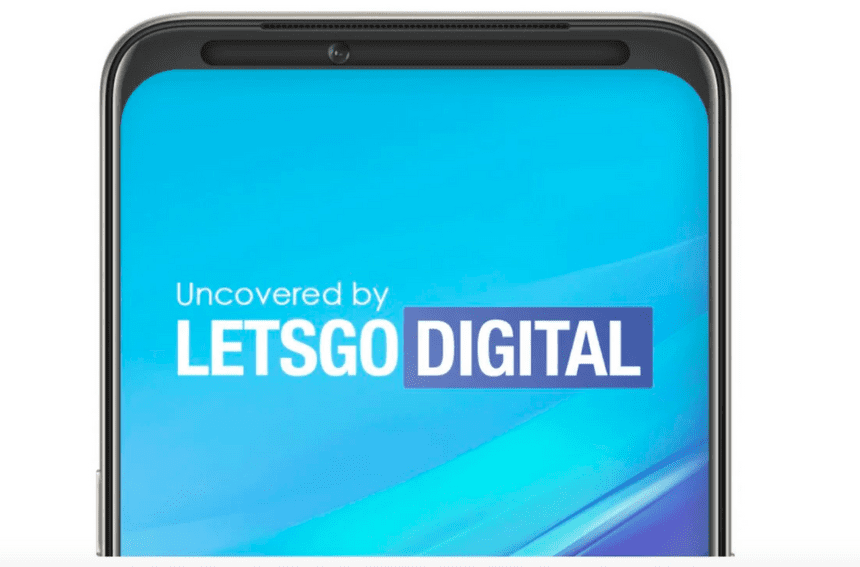 OPPO запатентовала новый смартфон с подвижной селфи-камерой