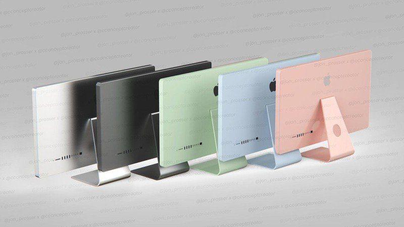 IMac 2021 года выйдет в пяти цветах, Apple Silicon Mac Pro будет напоминать составные Mac Mini