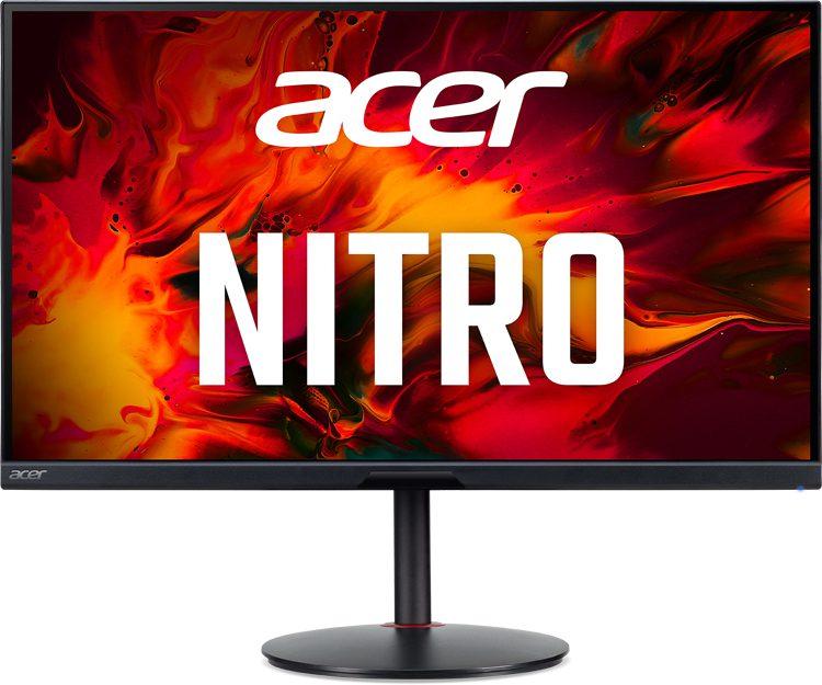 Acer представила новые игровые мониторы Acer Nitro XV2