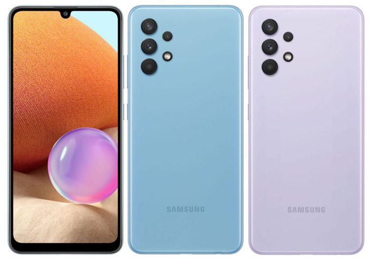 Samsung представила в России смартфон Galaxy A32 4G