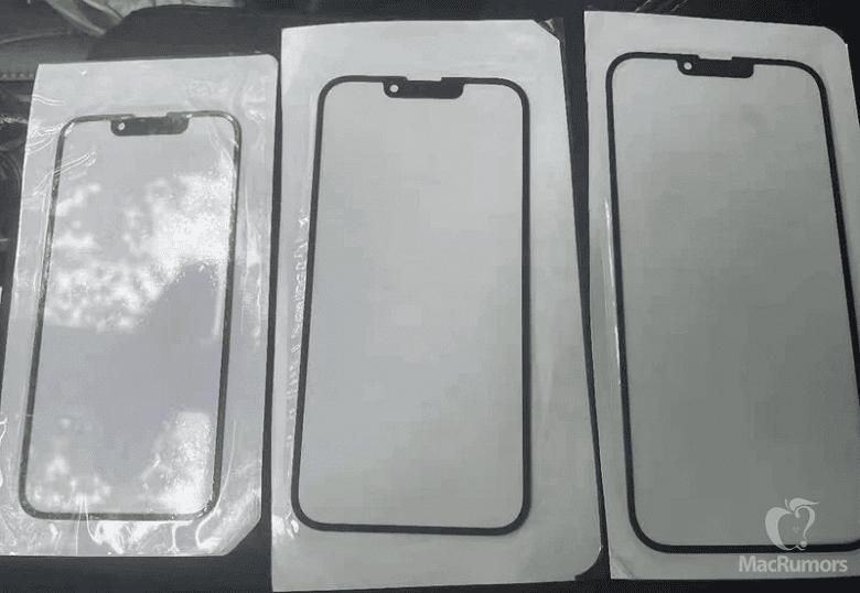 Опубликовано первое фото, подтверждающее уменьшенную «чёлку» в iPhone 13