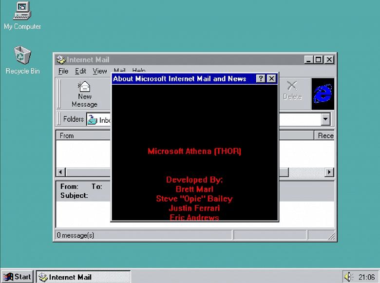 В ОС Windows 95 обнаружили неизвестную ранее «пасхалку»
