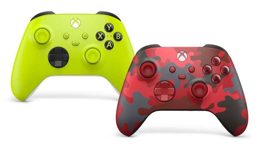 Для геймпадов Xbox Series анонсировали ещё два новых цветовых решения