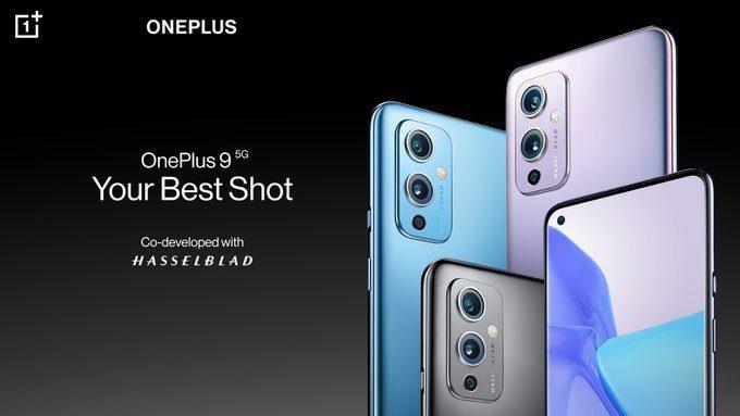 Представлены флагманские смартфоны OnePlus 9 и OnePlus 9 Pro с камерой от Hasselblad