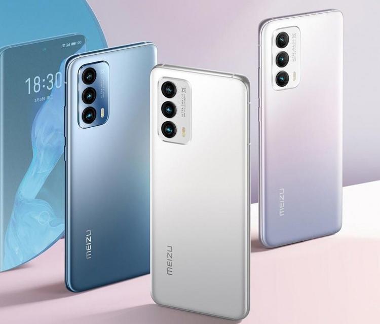 Компания Meizu презентовала новые смартфоны Meizu 18 и Meizu 18 Pro