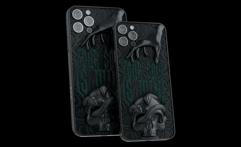 Компания Caviar выпустила в РФ iPhone 12 Pro для фанатов Mortal Kombat