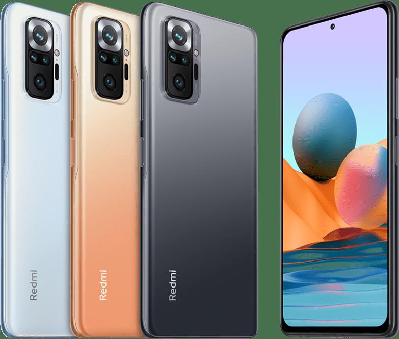 Xiaomi представила в РФ новые среднебюджетные смартфоны Redmi Note 10
